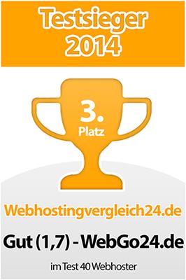 Webhosting Testsieger WebGo